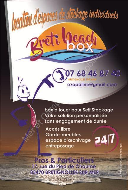 Divers à vendre Brétignolles-sur-Mer  Espace de stockage de 4m2 à 17m2 ou plus