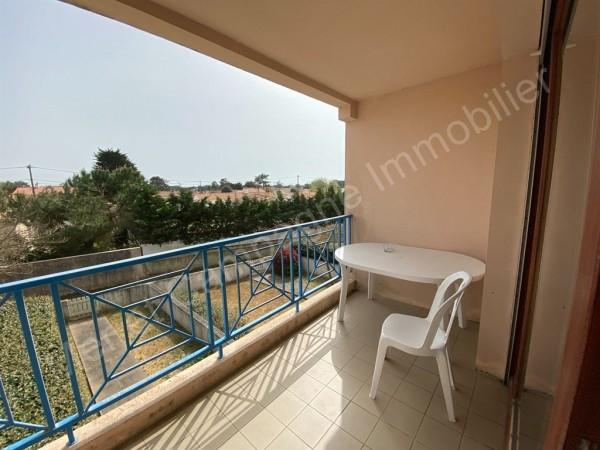 Appartement à vendre Brétignolles-sur-Mer 5439 Dans le quartier prisé du Pied de Chaume à 400 m de la mer et 800 m du centre de Brétignolles sur mer et dans une résidence calme