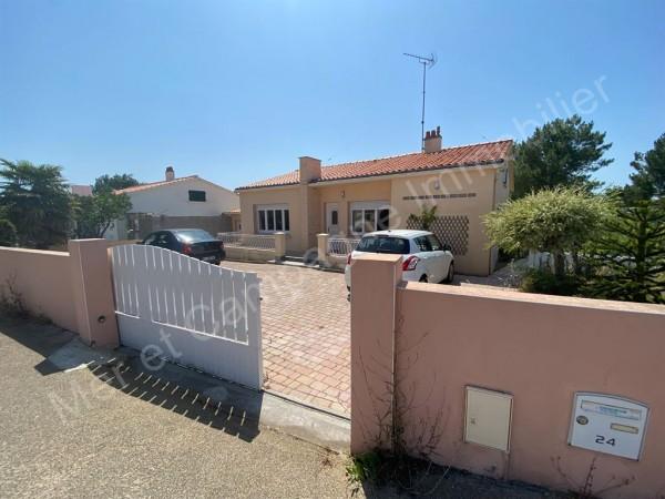 Maison à vendre Brétignolles-sur-Mer 5479 A 450 m du centre ville et 1km de la plage